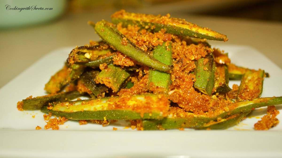 Rawa Bhindi (Okra) Fry